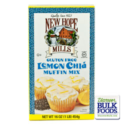 8/16oz Gluten Free Lemon Chia Muffin Mix: GR