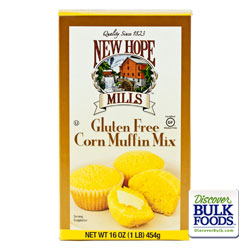 8/16oz Gluten Free Corn Muffin Mix: GR