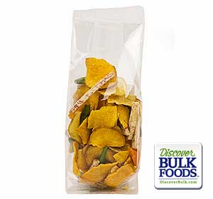 Vegetable Crisps 12/3oz Vegetable Crisps Prepack Bags 4x2x8: GR