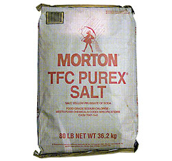 Table Salt (Morton) - 80 Lb Table Salt (Morton): GR