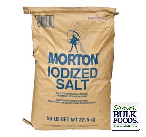 Table Salt Iodized 50Lb Iodized Table Salt(Morton): GR