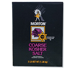 Kosher Salt (Coarse) - 12/3 Lb Kosher Salt (Coarse): GR