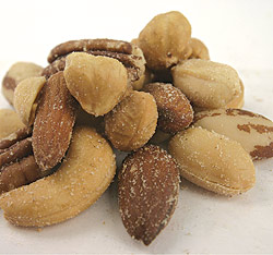 Mixed Nuts with Peanuts (Roasted & Salted) - 15 Lb Mixed Nuts W/Peanuts(R & S): GR
