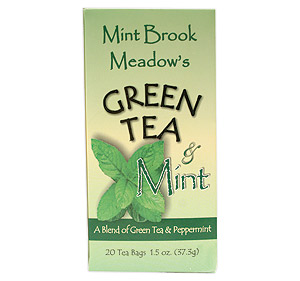Green Tea & Mint - 6/20Ct Green Tea And Mint: GR