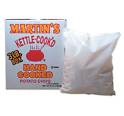 Kettle Cooked Potato Chips - 3 Lb Kettle Cooked Potato Chips: GR