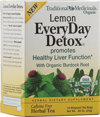 Lemon EveryDay Detox 16 tea bags: K