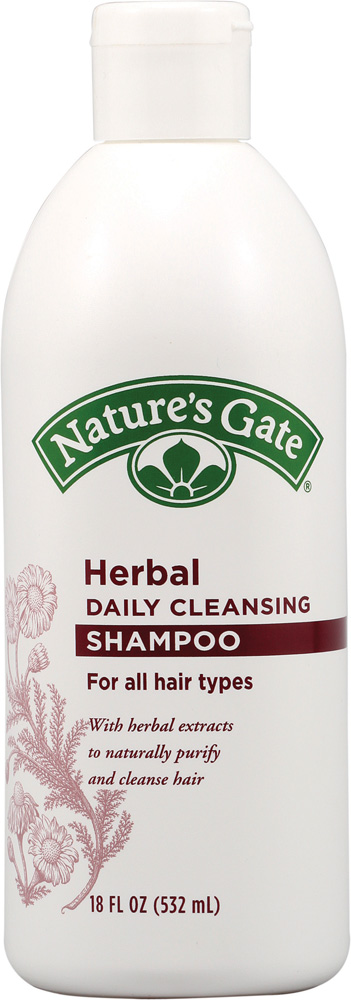 Herbal Daily Cleansing Shampoo for All Hair Types 32 fl oz: K