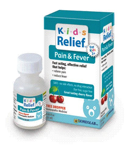 Kids Relief Pain & Fever, Cherry Flavored Oral Solution 0.85 fl oz: K