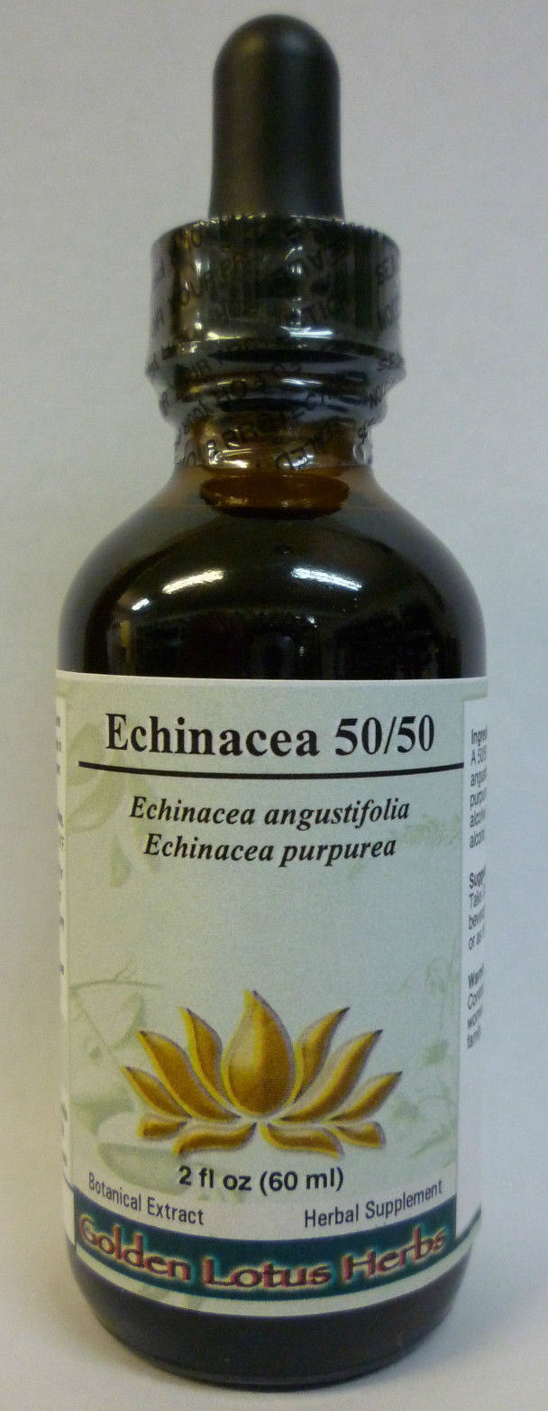 Echinacea 50/50 Alcohol Extract Blend (angust. Roots /purp. Tops)  2 oz.: GL