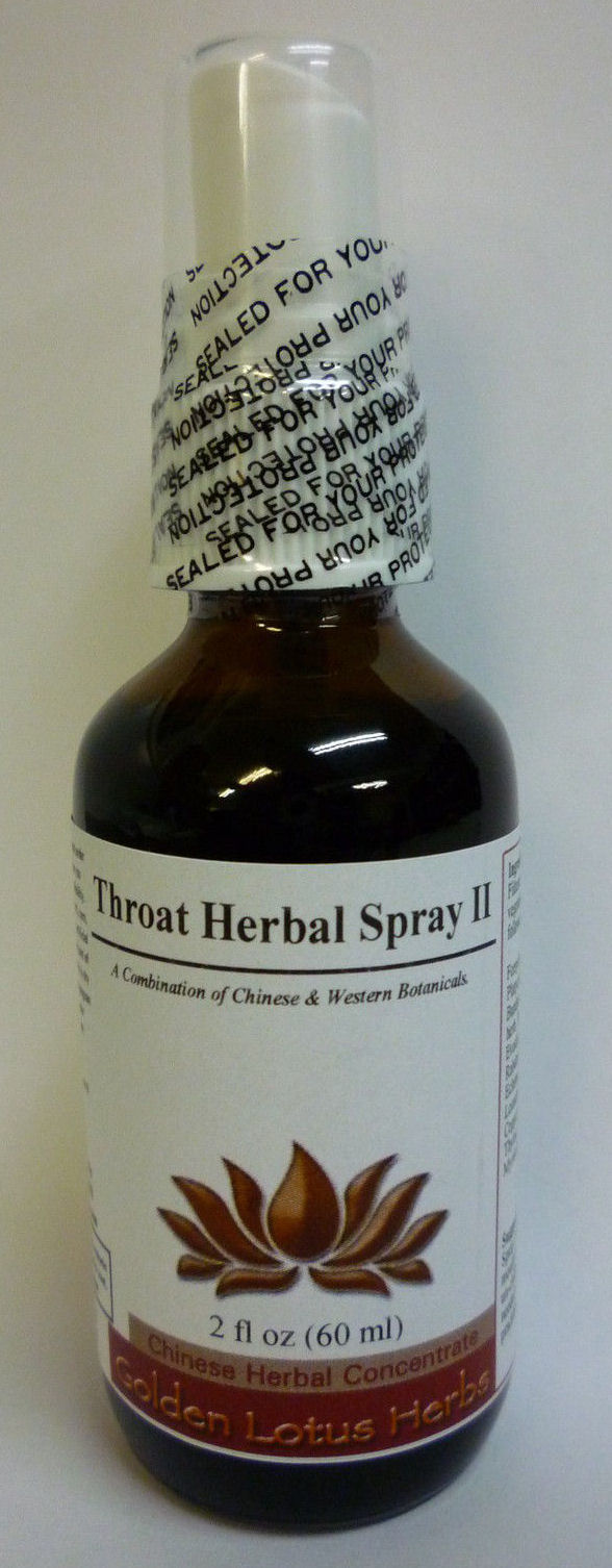 Throat Relief Spray #2 (Concentrated Fluid Extract) w/ Dropper or Sprayer Chinese Fluid Extract 4 oz.: GL