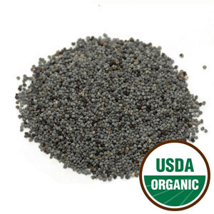 Poppy Seed Blue Whole Cert. Organic (Papaver somniferum) 3.25 oz: C