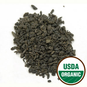 Gunpowder Green Tea Cert. Organic (Camellia Sinensis) 4 oz: C