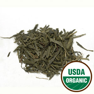 Sencha Leaf Green Tea China Cert. Organic (Camellia Sinensis) 4 oz: C