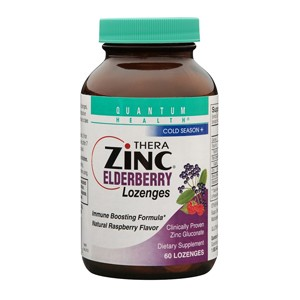 Quantum Thera Zinc Elderberry Lozenges, 60 count: C