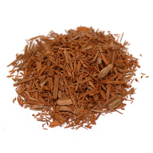 Sandalwood, Red Cut & Sifted Wildcrafted, (25 lbs earns 15% refund) 1 lb: C
