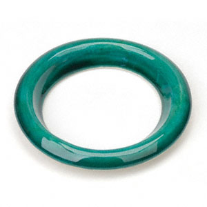 Ceramic Lightbulb Scent Diffuser Ring: Green: C