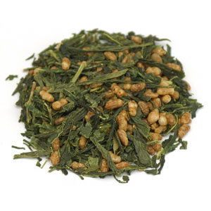 Genmaicha Tea (w/toasted brown rice) Cert. Organic, China, (25 lbs earns 15% refund) 1 lb: C