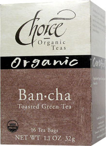 Ban-cha Tea (Toasted Green Tea), 16 t-bag box: C
