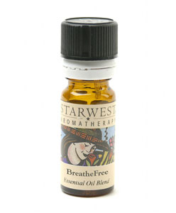 BreatheFree� Refreshing Aromatherapy Essential Oil Blend 1/3 fl oz: C