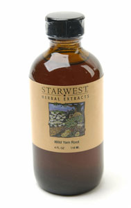 Wild Yam Root WC Liquid Alcohol Extract, 4 fl oz: C