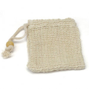 "Sisal Soap Sack/Gentle Loop (A), 5.25"" x 4"": C"