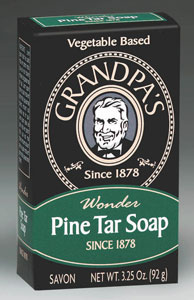 Pine Tar Soap, medium, 3.25 oz: C