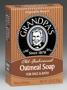 Oatmeal Soap, 3.25 oz: C