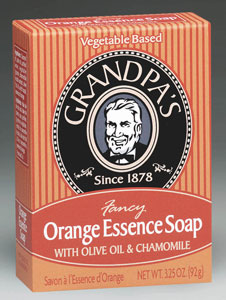 Orange Essence Soap, 3.25 oz: C