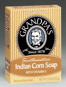 Indian Corn Soap w/Vitamin E, 3.25 oz: C