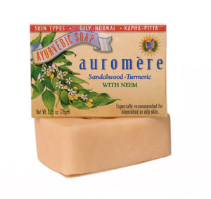 Sandal-Turmeric Bar Soap, 2.75 oz: C