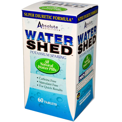 Absolute Nutrition WaterShed - 60 Tablets: HF
