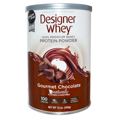 Designer Whey Protein Powder Chocolate - 12.7 oz: HF