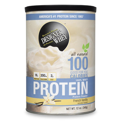 Designer Whey Protein Powder French Vanilla - 12 oz: HF