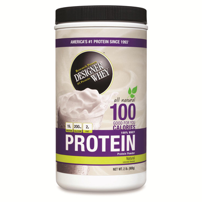 Designer Whey Protein Powder Natural - 2 lbs: HF