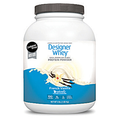 Designer Whey Protein Powder French Vanilla - 4 lbs: HF