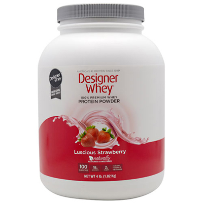 Designer Whey Protein - Strawberry - 4.4 Lb.: HF
