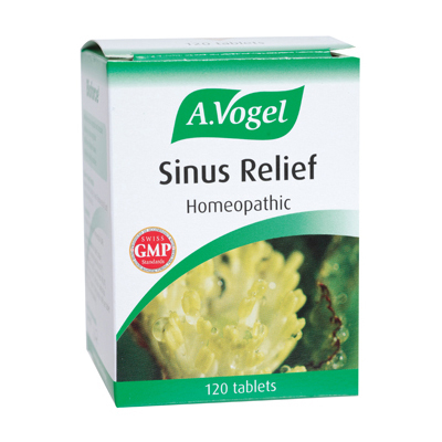 A Vogel Sinus Relief - 120 Tablets: HF