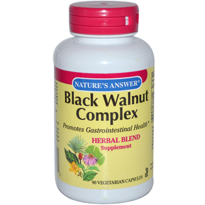 Nature's Answer Black Walnut Complex - 90 Vegetarian Capsules: HF