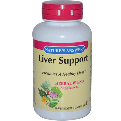 Nature's Answer Liver Support - 90 Vegetarian Capsules: HF