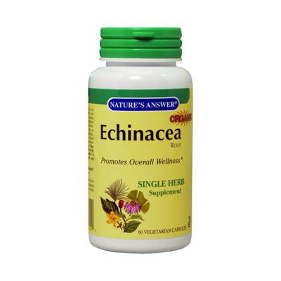 Nature's Answer Echinacea Root - 900 Mg - 60 Vcaps: HF