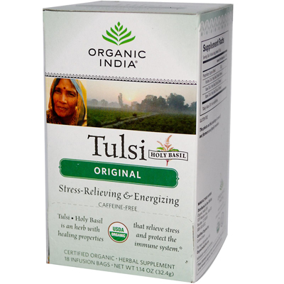 Organic India Tulsi Tea Original - 18 Tea Bags - Case of 6: HF