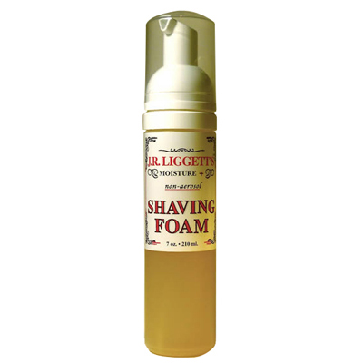 J.R.Liggett's Shaving Foam - 7 oz: HF