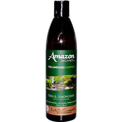 Mill Creek Amazon Organics Volumizing Shampoo Lavender and Lemongrass - 12 fl oz: HF