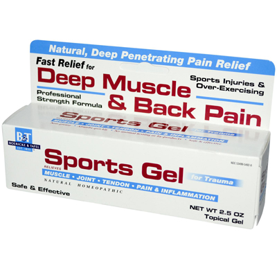 Boericke and Tafel Sports Gel - 2.5 oz: HF