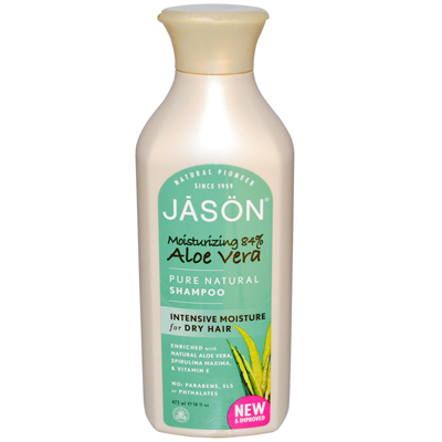 Jason Pure Natural Shampoo Aloe Vera for Dry Hair - 16 fl oz: HF