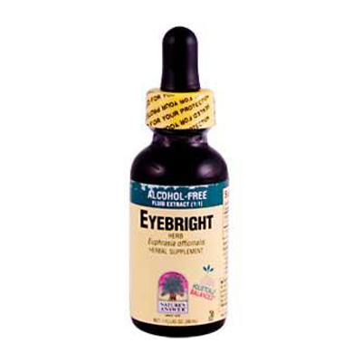 Nature's Answer Eyebright Herb Alcohol Free - 1 fl oz: HF