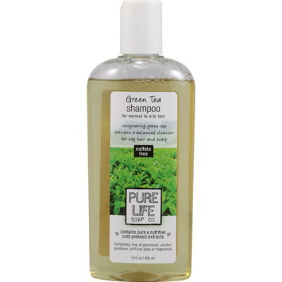 Pure Life Shampoo Green Tea - 15 fl oz: HF