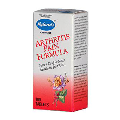 Hylands Homeopathic Arthritis Pain Formula - 100 Tablets: HF