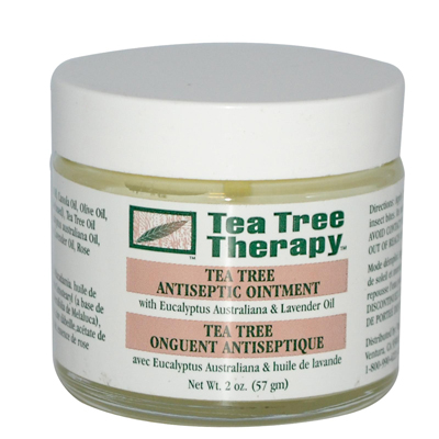 Tea Tree Therapy Antiseptic Ointment Eucalyptus Australiana and Lavender Oil - 2 oz: HF