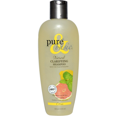 Pure and Basic Clarifying Shampoo Citrus - 12 fl oz: HF